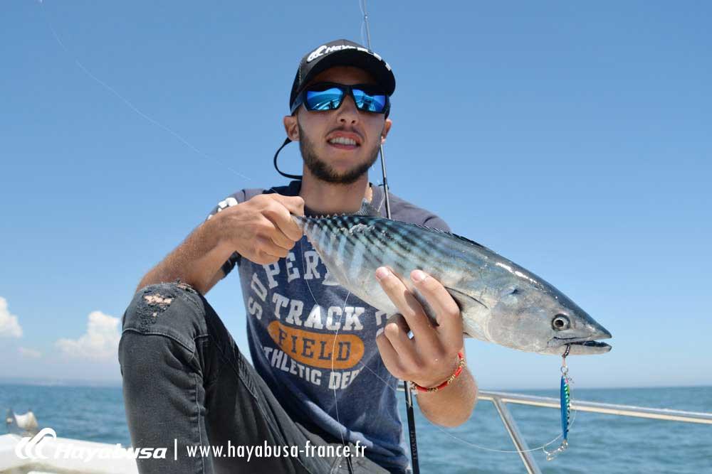 relâche pélamide pêche exceptionnelle hayabusa